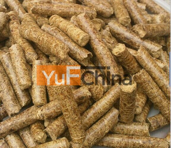 6-8mm Bulk Wood Pellet With Heat Value 4500kcal/kg - Buy ...