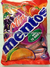 Mentos Mini Candy in bar-Fruit Flavor 400gr