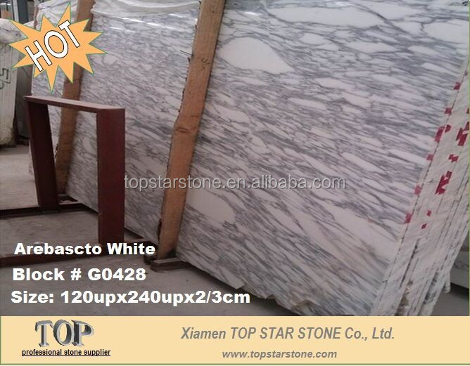 Italy Imported White Marble Arabescato