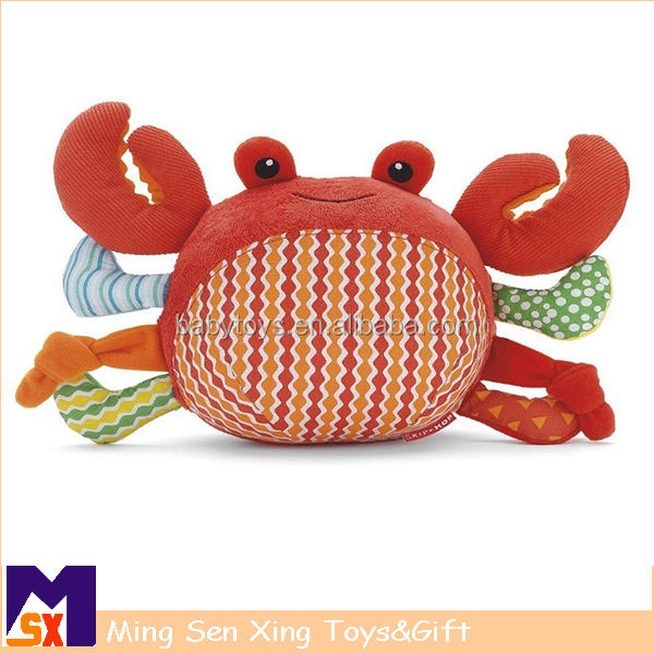 China factory toys cute soft toy plush animal plush shrimp toy with cheap price
