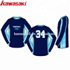 Cool design custom sublimated mens basketball shooting shirt