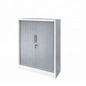 Plastic roller shutter door for furniture