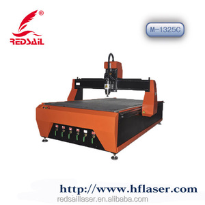 Air cooled redsail cnc router wood carving machine M1325C sale