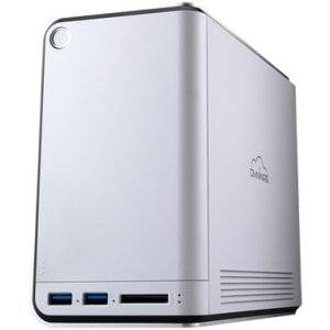 """Shuttle, Inc - Shuttle Omninas Kd21 Nas Server - Marvell 88F6707 1 Ghz - 2 X Total Bays - 512 Mb Ram - Raid Supported - 3 X Usb Ports """"Product Category: Storage Arrays & Servers/Storage Servers"""""""