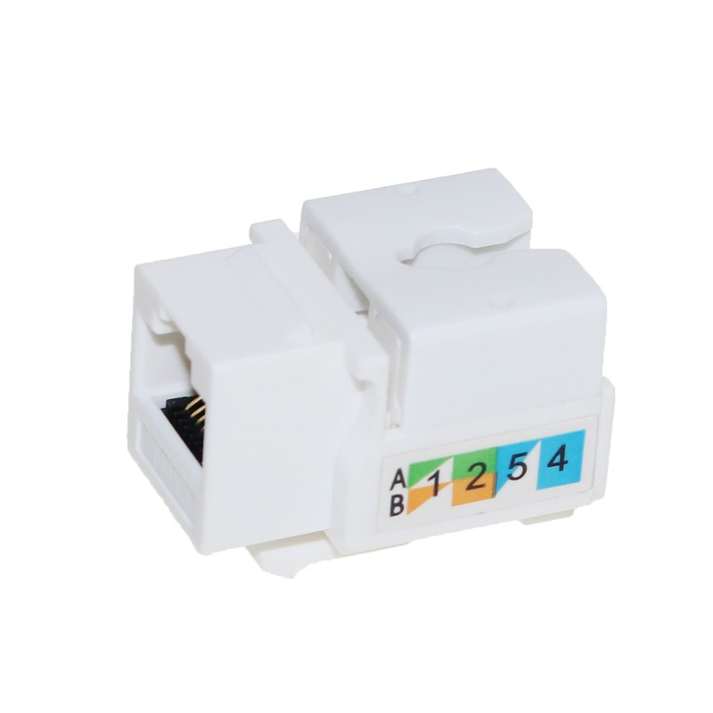 High speed CAT6 Keystone Jack rj45 female connecter
