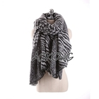 Women fashion new acrylic houndstooth herringborn warm winter scarf lastest design shawl