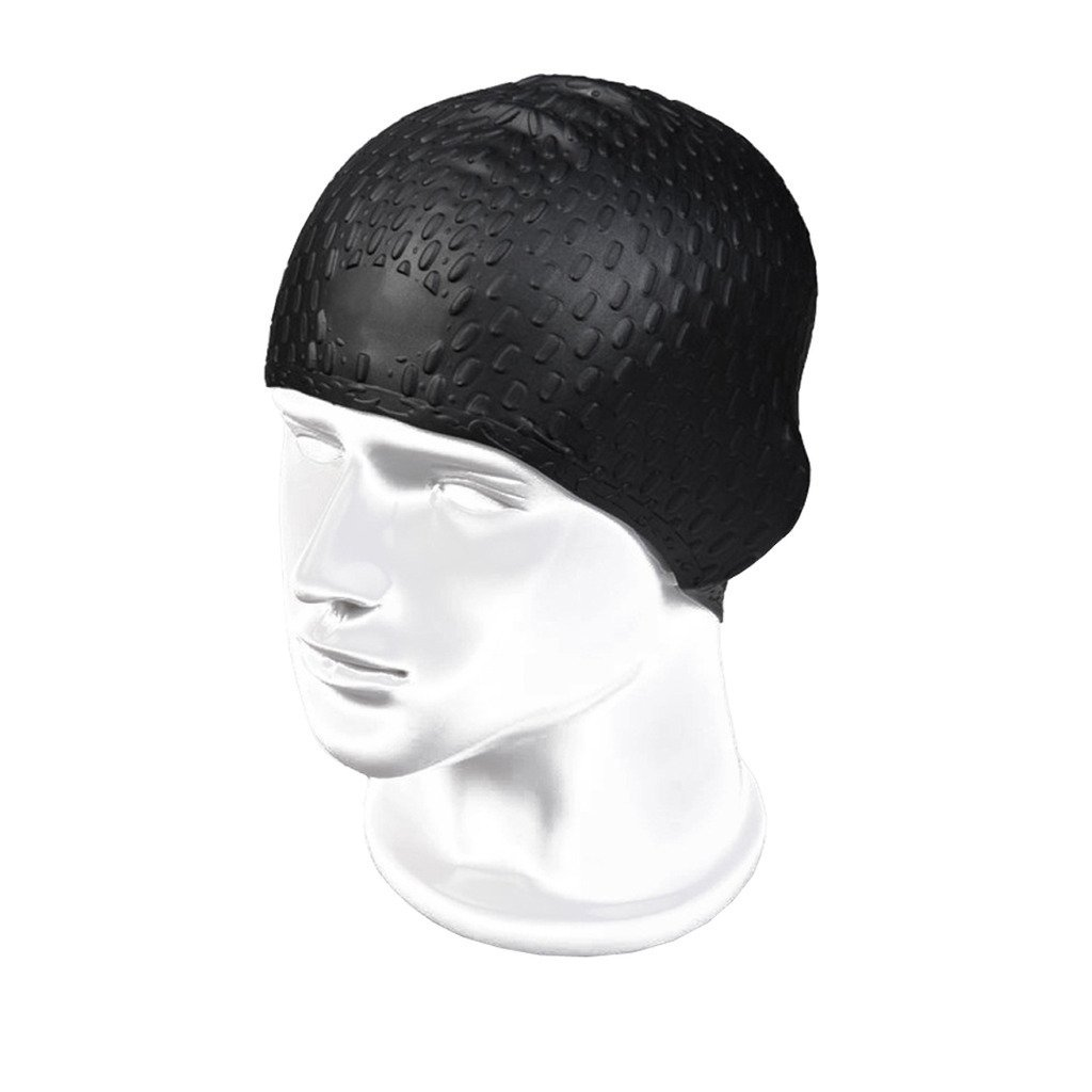 c60d8c53a150b Buy Globalwells 2 pieces Silicon Swimming Cap - Perfect Head Fit ...