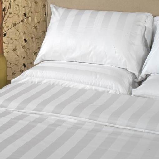 Mẫu Miễn Phí 100% Cotton Trắng Bed Sheet Vải Cho Khách Sạn Bed Sheet/Bìa/Gối