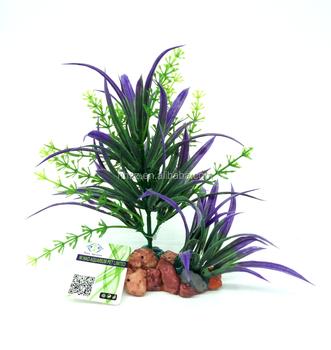 Mayitr Beautiful Green Yellow Purple Plastic Plant Decoration Buy