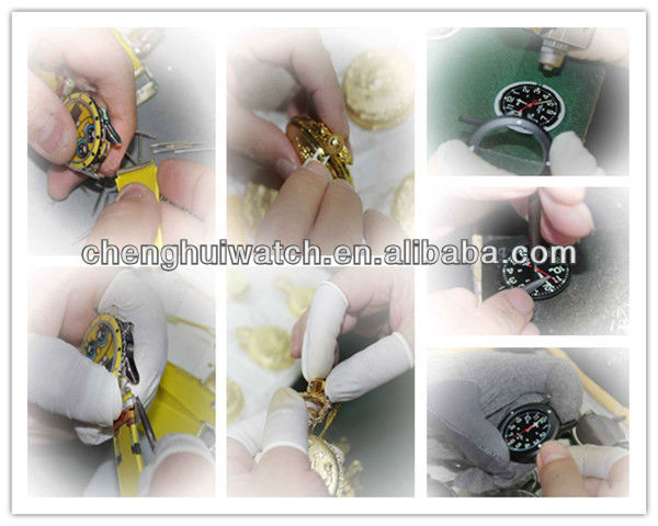Great Value High Quality  Silicone Health Care Workers printed flowers silicon Nurses  Watches