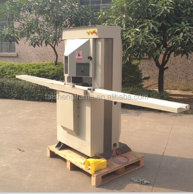 45 degree double mitre saw wood profile frame cutting machine guillotine picture frame photo machine