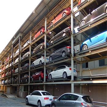 Electric Platform Stacker Multl Level Parking Lift Simple Tilting Four Post  Residential Car Lift - Buy Stacker Parking System,Stacker Car Parking