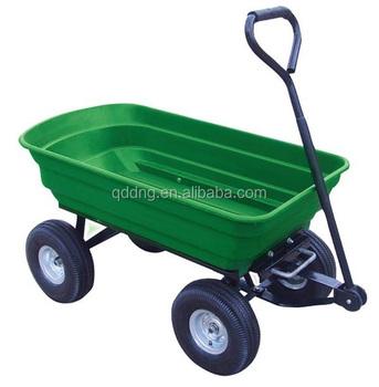Captivating Dump Cart / Plastic Garden Cart / Handle Pull Garden Cart