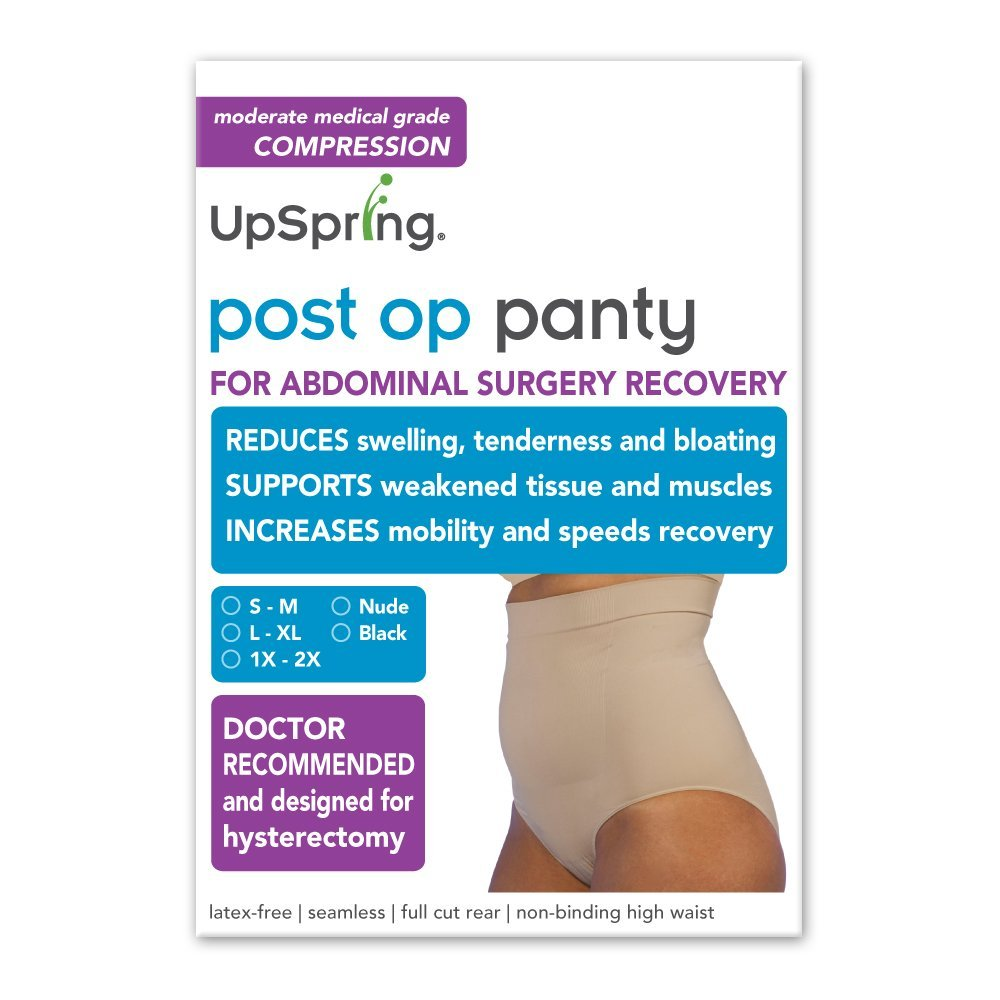 d249018d0 Get Quotations · Post Op Panty Compression Hysterectomy and Myomectomy Recovery  Panty L XL Nude