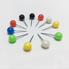 Assorted Color Round Head Pins Ball Head Push Pins With Good Use