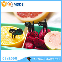 Cute animal plastic fruit fork bento decoration fork