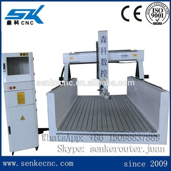 Cheap Price 3d Cnc Router 4 Axis Cnc Milling Machine For Eps Foamstyrofoam