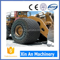 35/65-33 Tyre protection chains wheel loader tire chains