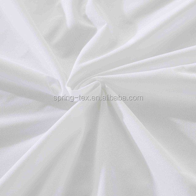 2016 Hot sale White Waterproof Anti-allergenicMattress Encasement with zipper