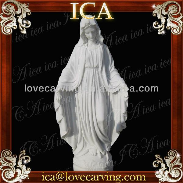 Angel And Cherub Statues,Christian Statue,White Madonna Statue ...