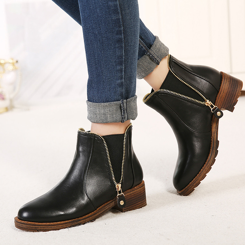 Find black leather boots on sale at ShopStyle. Shop the latest collection of black leather boots on sale from the most popular stores - all in one. Skip to Content Black Leather Women's Boots Black Lined Leather Women's Boots Black Leather Sole Women's Boots Black Leather Upper Women's Boots.