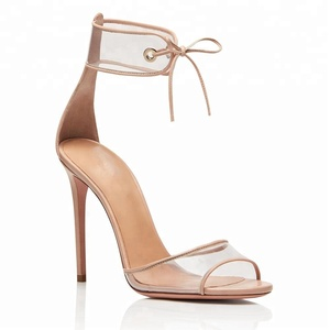 e1a2609bb Women Wholesale Ladies Lace Up High Heel Footwear Women Heel Summer Shoes  Sandals