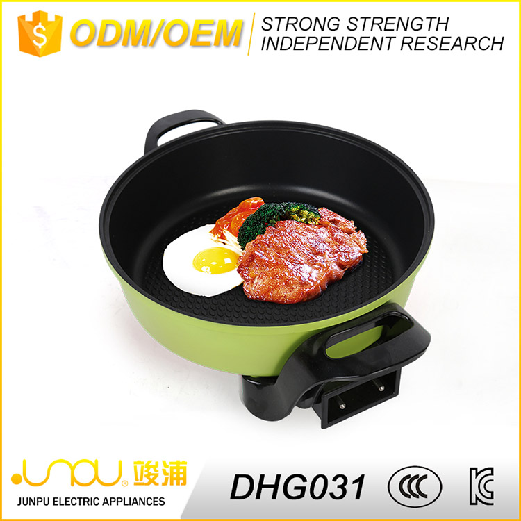 Professional custom adjustable temp kitchen electric hot pot for sale