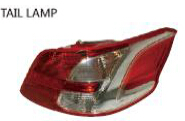 FOR PEUGEOT 301 Auto Car tail lamp tail light