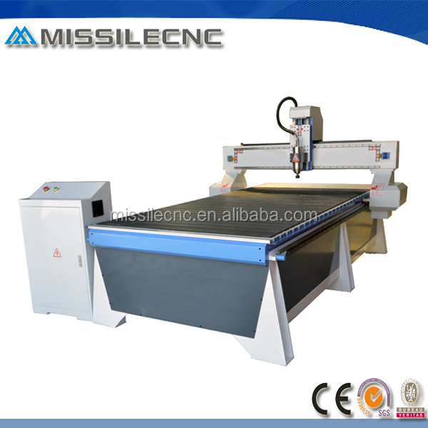 Aluminum T-slot table 1325 advertising cnc router for all kinds of boards processing