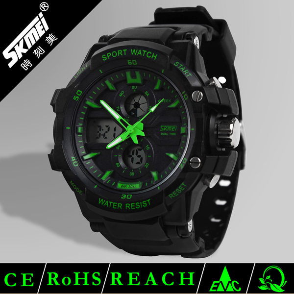 skmei brand wrist watch for man fashion waterproof digital sport watch made in China