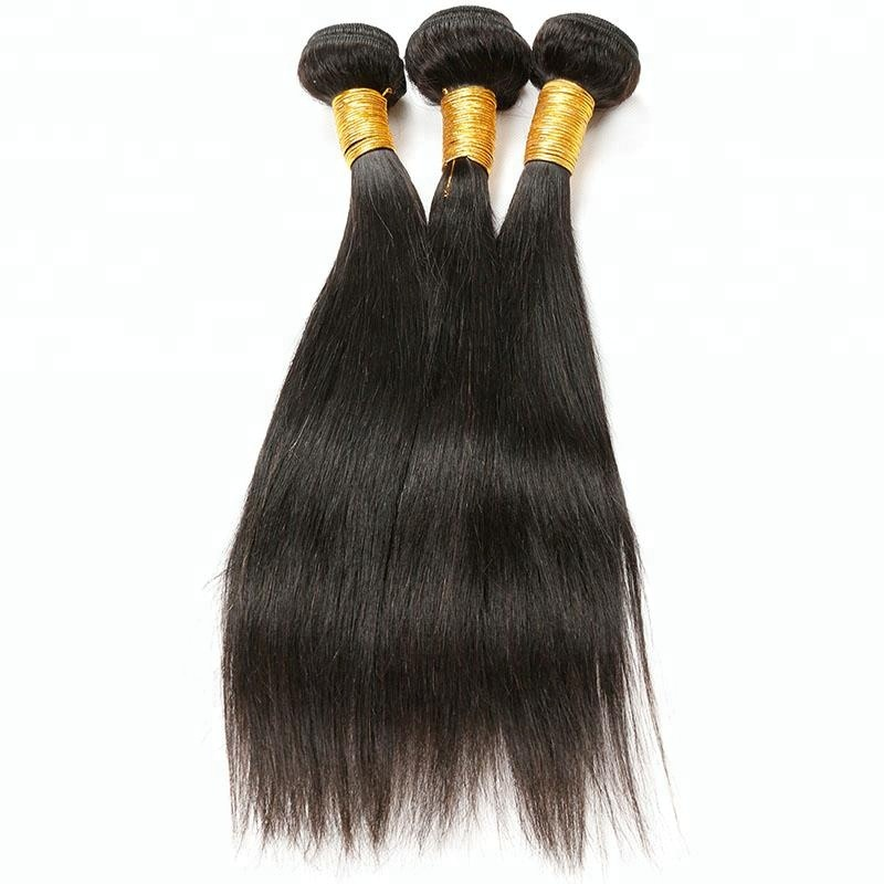 Factory Wholesale Grade 8A 100% Unprocessed Peruvian Virgin Straight Hair, Natural black 1b;1#;1b;2#;4# and etc