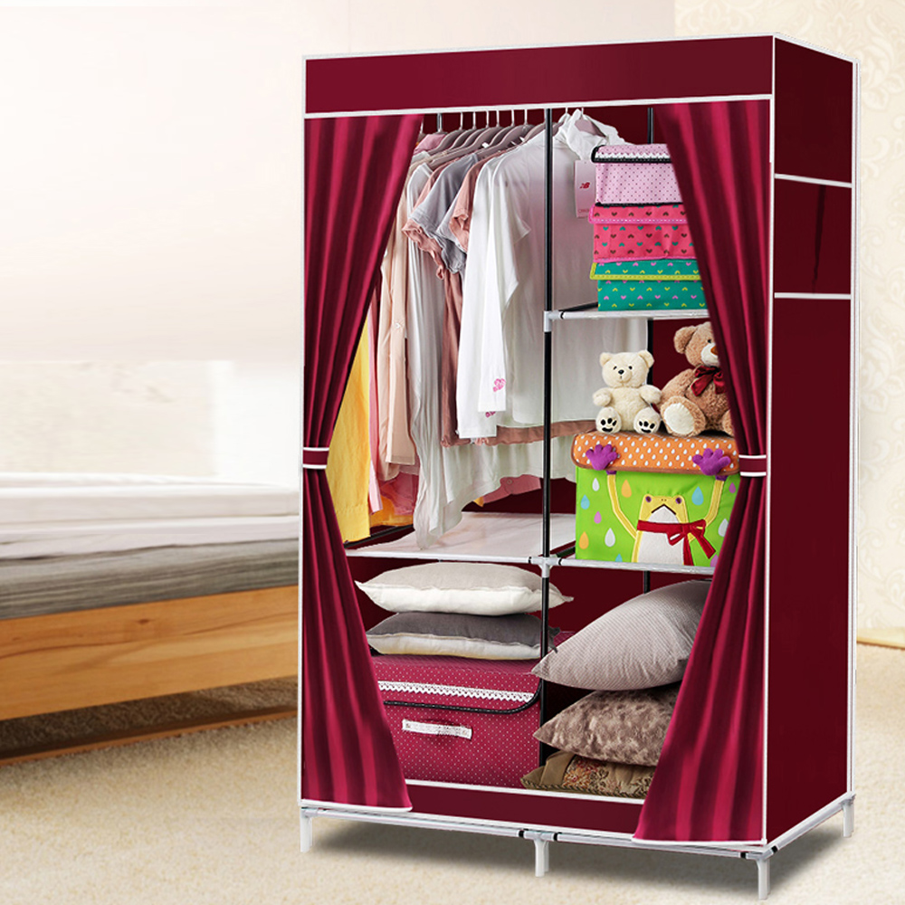 Folding Bedroom Fabric Wardrobe Sliding Door Design Buy Bedroom
