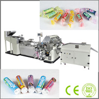 CE Approved SMVS-2000 Automatic Roll Round or Cylinder Jelly Packing Machine