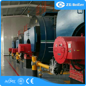 China Boiler Manufacturer Wet Back Oil Gas Fired Boilers With German ...
