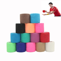 Prime quality 12 years supplier colorful non-woven self-adhesive cohesive elastic flexible bandages