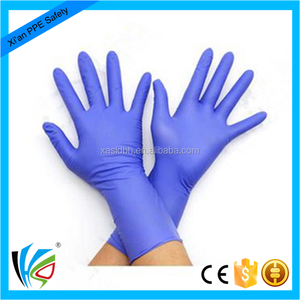Nitrile Examination Gloves Latex Free/Nitrile Glove price/Disposable Nitrile Glove