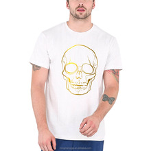 Latest Overseas Silk Screen Printing Stretch 100 Cotton Custom T Shirt for Men