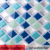 Most popular peel and stick vinyl color tiles for tiny house wall instant mosaic decor