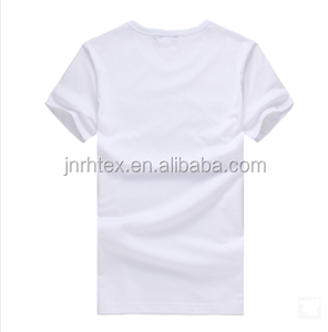 cheap wholesale high quality customized bamboo/cotton blank white t shirt below $1