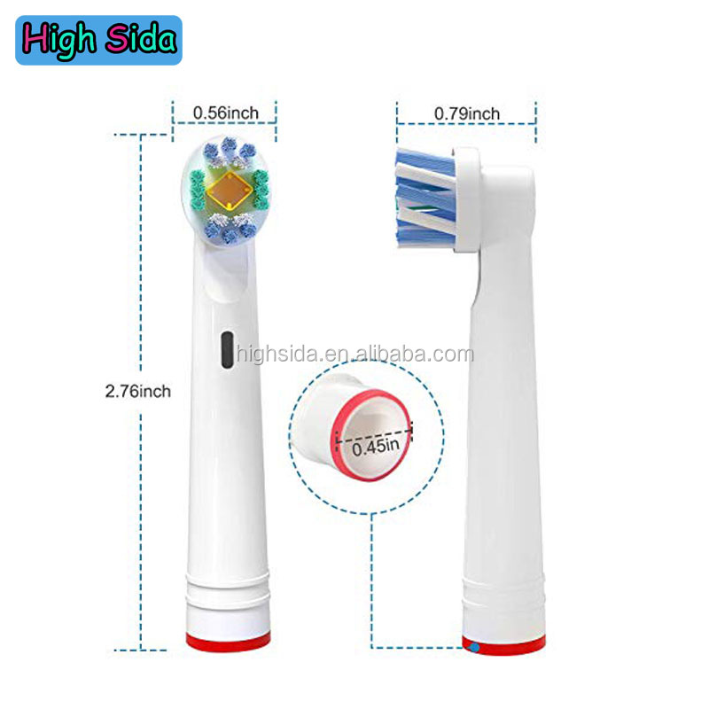 Manufacture Oralb Toothbrush Heads 3D White EB18-P Pro White
