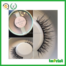 Private label Circle Case 3D mink eyelash eye lashes round eyelash packaging box