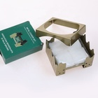 NEW Style Foldable Camping Cooking Solid Fuel Stove