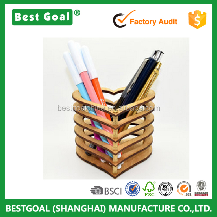 High-quality Wooden Pen Pencil Holder