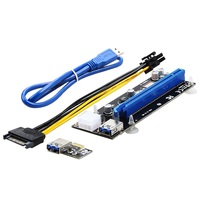pcie 1x to 16x risers 6 pin PCIe 16x slot for graphic card PCI express 16x riser