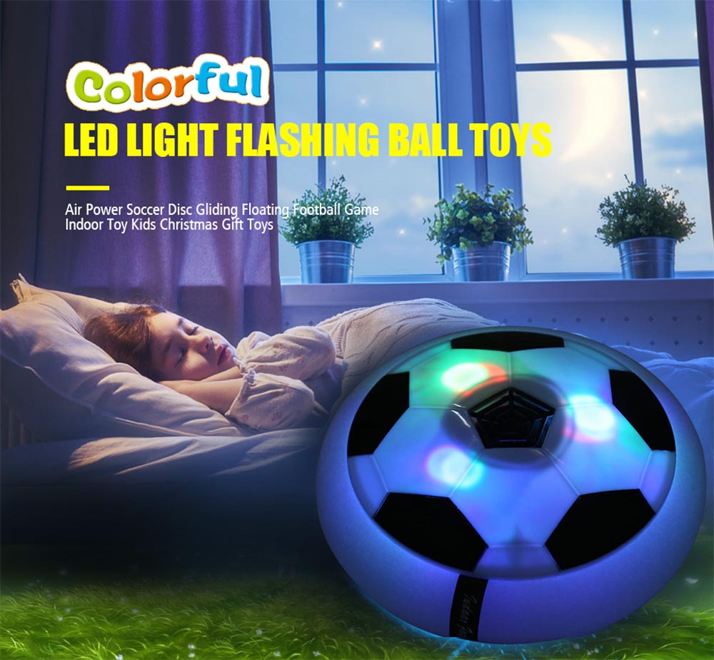 UCHOME Electric Light-Up Calcio Sport Calcio aereo Calcio palla