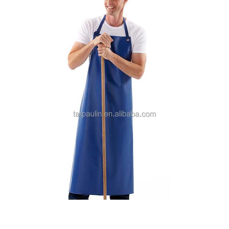 Chemicals Resistant 500gsm PVC Coated tarpaulin for Aprons