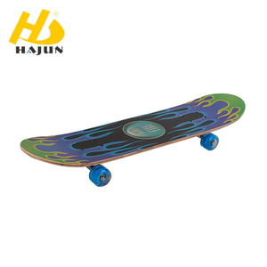 Factory hot wholesale maple blank skateboard decks long complete board