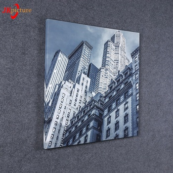 Famous buildings wall hanging paintings simple modern architectural print canvas without frame print