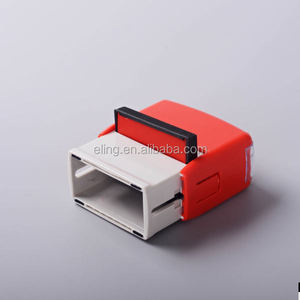 Plastic Self inking Stamp kefeng supply clear stamp logo rubber material
