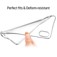 Wholesale high quality Manufacture of Custom Clear Transparent TPU Phone Cover Case